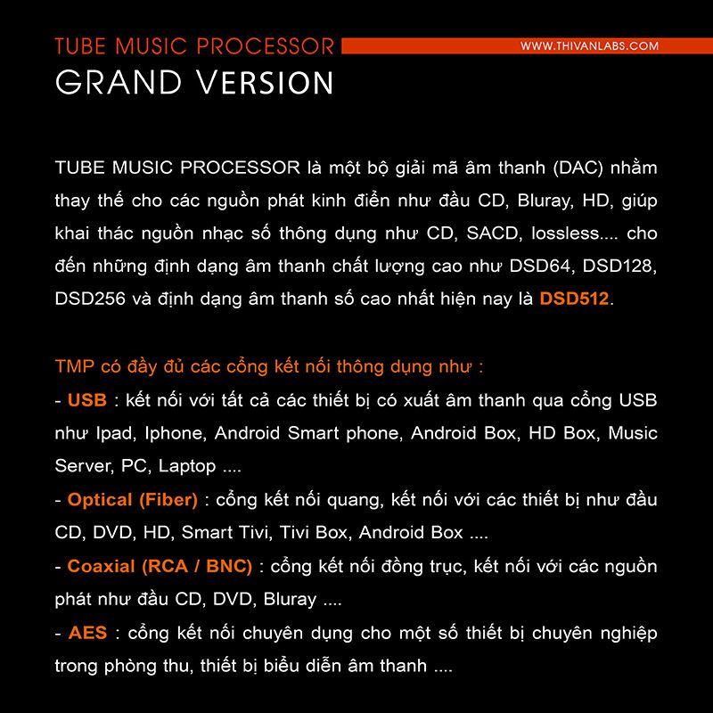 Tube Music Processor – GRAND Version 2