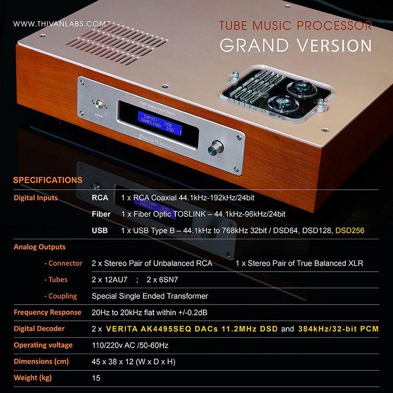 Tube Music Processor – GRAND Version 6