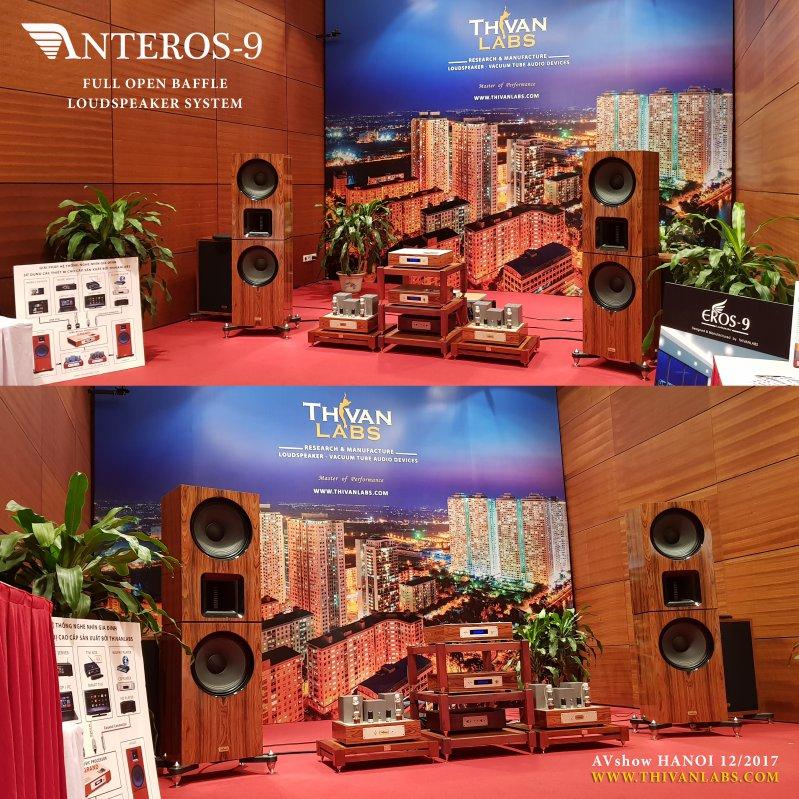ANTEROS-9 OPEN BAFFLE Loudspeaker system – Thivanlabs