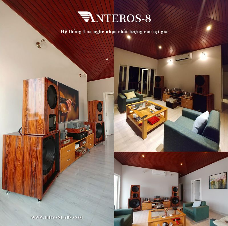 ThivanLabs Anteros-8 Flagship High-end Loudspeaker System -Vuông